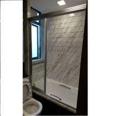 三趟式玻璃浴屏