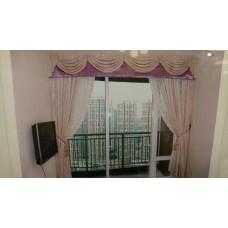 柏慧豪園一期窗簾