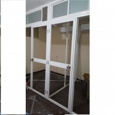 鋁質间房美觀耐用(日後拆除容易)